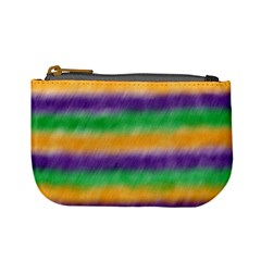 Mardi Gras Strip Tie Die Mini Coin Purses by PhotoNOLA