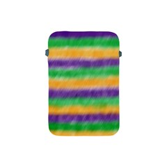 Mardi Gras Strip Tie Die Apple Ipad Mini Protective Soft Cases by PhotoNOLA