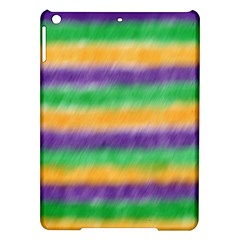 Mardi Gras Strip Tie Die Ipad Air Hardshell Cases by PhotoNOLA