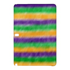 Mardi Gras Strip Tie Die Samsung Galaxy Tab Pro 12 2 Hardshell Case by PhotoNOLA