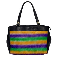 Mardi Gras Strip Tie Die Office Handbags by PhotoNOLA