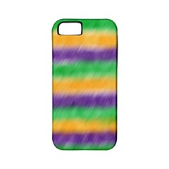 Mardi Gras Strip Tie Die Apple Iphone 5 Classic Hardshell Case (pc+silicone) by PhotoNOLA