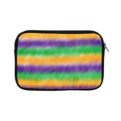 Mardi Gras Strip Tie Die Apple Ipad Mini Zipper Cases