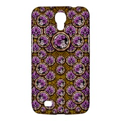 Gold Plates With Magic Flowers Raining Down Samsung Galaxy Mega 6 3  I9200 Hardshell Case by pepitasart