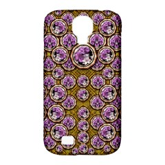 Gold Plates With Magic Flowers Raining Down Samsung Galaxy S4 Classic Hardshell Case (pc+silicone) by pepitasart