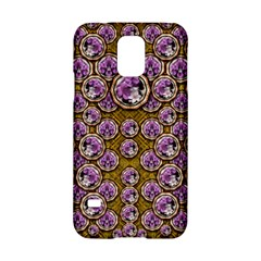 Gold Plates With Magic Flowers Raining Down Samsung Galaxy S5 Hardshell Case  by pepitasart