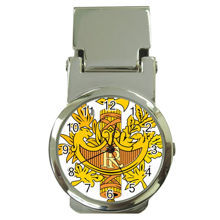 National Emblem Of France Money Clip Watches Cowcow