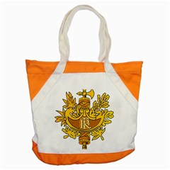 National Emblem Of France  Accent Tote Bag by abbeyz71