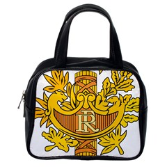 National Emblem Of France  Classic Handbags (one Side) by abbeyz71