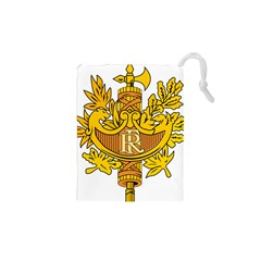 National Emblem Of France  Drawstring Pouches (xs)  by abbeyz71