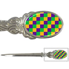 Mardi Gras Checkers Letter Openers by PhotoNOLA