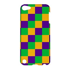 Mardi Gras Checkers Apple Ipod Touch 5 Hardshell Case by PhotoNOLA