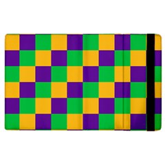 Mardi Gras Checkers Apple Ipad 2 Flip Case by PhotoNOLA
