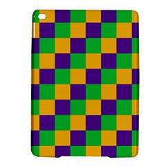 Mardi Gras Checkers Ipad Air 2 Hardshell Cases by PhotoNOLA