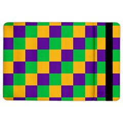 Mardi Gras Checkers Ipad Air 2 Flip by PhotoNOLA