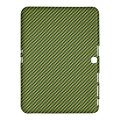 Mardi Gras Checker Boards Samsung Galaxy Tab 4 (10 1 ) Hardshell Case  by PhotoNOLA