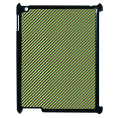 Mardi Gras Checker Boards Apple Ipad 2 Case (black) by PhotoNOLA