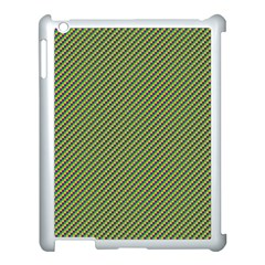 Mardi Gras Checker Boards Apple Ipad 3/4 Case (white) by PhotoNOLA