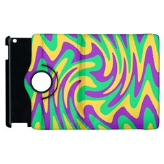 Mardi Gars Apple Ipad 3/4 Flip 360 Case by PhotoNOLA