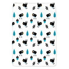 Bird Beans Leaf Black Blue Flap Covers (s)  by Alisyart