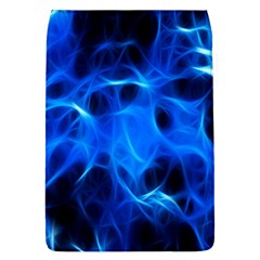 Blue Flame Light Black Flap Covers (l)  by Alisyart