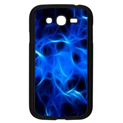 Blue Flame Light Black Samsung Galaxy Grand Duos I9082 Case (black) by Alisyart