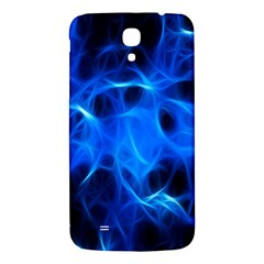 Blue Flame Light Black Samsung Galaxy Mega I9200 Hardshell Back Case