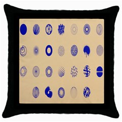 Art Prize Eight Sign Throw Pillow Case (black) by Alisyart
