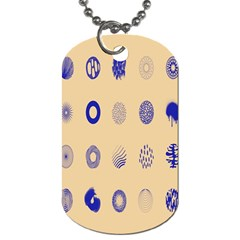Art Prize Eight Sign Dog Tag (two Sides) by Alisyart