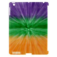 Mardi Gras Tie Die Apple Ipad 3/4 Hardshell Case (compatible With Smart Cover) by PhotoNOLA