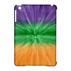 Mardi Gras Tie Die Apple Ipad Mini Hardshell Case (compatible With Smart Cover) by PhotoNOLA