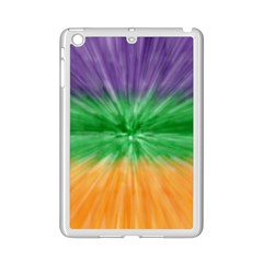 Mardi Gras Tie Die Ipad Mini 2 Enamel Coated Cases by PhotoNOLA