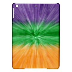Mardi Gras Tie Die Ipad Air Hardshell Cases by PhotoNOLA