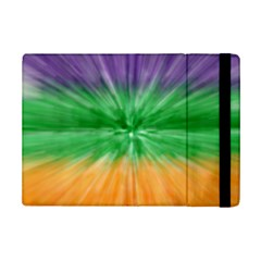 Mardi Gras Tie Die Ipad Mini 2 Flip Cases by PhotoNOLA