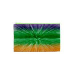 Mardi Gras Tie Die Cosmetic Bag (xs) by PhotoNOLA