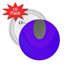 Ceiling Color Magenta Blue Lights Gray Green Purple Oculus Main Moon Light Night Wave 2 25  Buttons (10 Pack)  by Alisyart