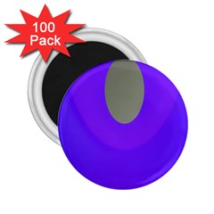 Ceiling Color Magenta Blue Lights Gray Green Purple Oculus Main Moon Light Night Wave 2 25  Magnets (100 Pack)