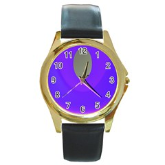 Ceiling Color Magenta Blue Lights Gray Green Purple Oculus Main Moon Light Night Wave Round Gold Metal Watch