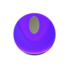Ceiling Color Magenta Blue Lights Gray Green Purple Oculus Main Moon Light Night Wave Magnet 3  (round) by Alisyart
