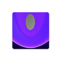 Ceiling Color Magenta Blue Lights Gray Green Purple Oculus Main Moon Light Night Wave Square Magnet by Alisyart