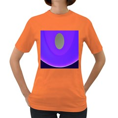 Ceiling Color Magenta Blue Lights Gray Green Purple Oculus Main Moon Light Night Wave Women s Dark T Shirt by Alisyart
