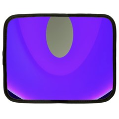 Ceiling Color Magenta Blue Lights Gray Green Purple Oculus Main Moon Light Night Wave Netbook Case (large)