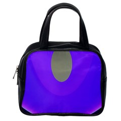 Ceiling Color Magenta Blue Lights Gray Green Purple Oculus Main Moon Light Night Wave Classic Handbags (one Side)