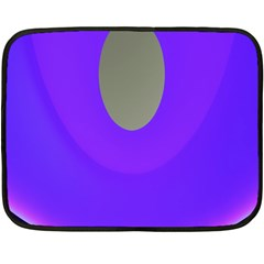 Ceiling Color Magenta Blue Lights Gray Green Purple Oculus Main Moon Light Night Wave Double Sided Fleece Blanket (mini)