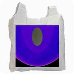 Ceiling Color Magenta Blue Lights Gray Green Purple Oculus Main Moon Light Night Wave Recycle Bag (two Side)