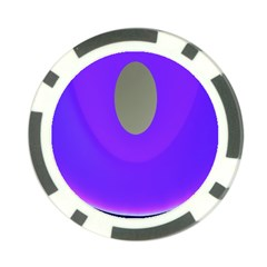 Ceiling Color Magenta Blue Lights Gray Green Purple Oculus Main Moon Light Night Wave Poker Chip Card Guard (10 Pack)