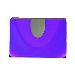 Ceiling Color Magenta Blue Lights Gray Green Purple Oculus Main Moon Light Night Wave Cosmetic Bag (large)