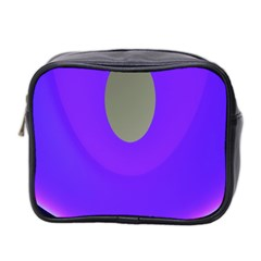 Ceiling Color Magenta Blue Lights Gray Green Purple Oculus Main Moon Light Night Wave Mini Toiletries Bag 2 Side