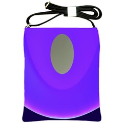 Ceiling Color Magenta Blue Lights Gray Green Purple Oculus Main Moon Light Night Wave Shoulder Sling Bags by Alisyart
