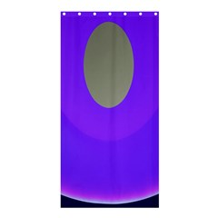 Ceiling Color Magenta Blue Lights Gray Green Purple Oculus Main Moon Light Night Wave Shower Curtain 36  X 72  (stall)